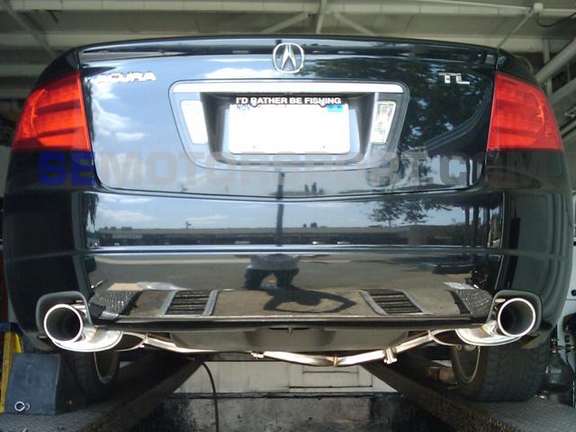 Acura TL Tsudo Performance SP Catback - Acura tl exhaust system